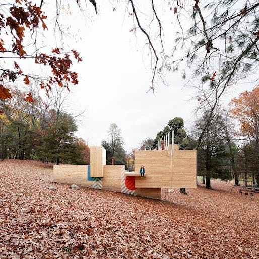 Best Recreational Architecture - Matter Design and FR|SCH Projects: Five Fields Play Structure, Lexington, U.S. Photo credit: Azure