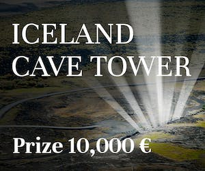 Iceland Cave Tower