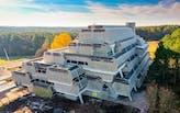 Demolition of Paul Rudolph's Burroughs Wellcome Building underway