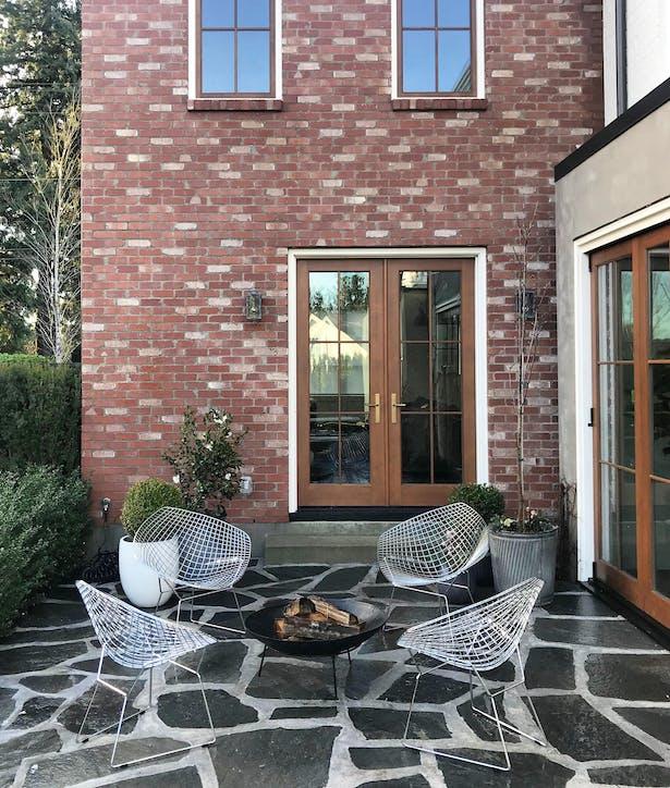 Modern Brownstone with Quantum Windows & Doors