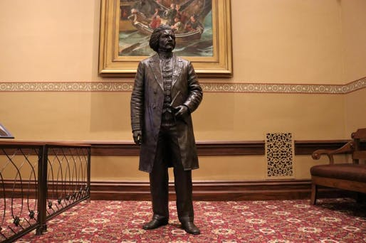 Frederick Douglass. Photo by Danielle E. Gaines. Via marylandmatters.org