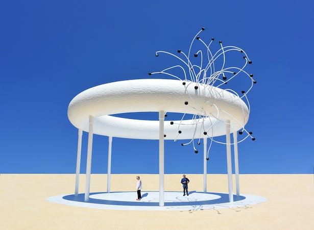 The Super Collider Pavilion