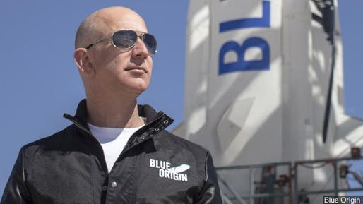 Jeff Bezos. Image courtesy of Blue Origin