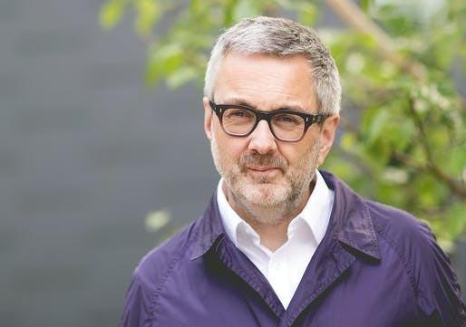 Alan Jones will become RIBA President Elect starting September 1. Photo courtesy of RIBA.