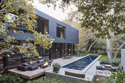 Mandeville Canyon Residence by Marmol Radziner. Photo: Roger Davies.