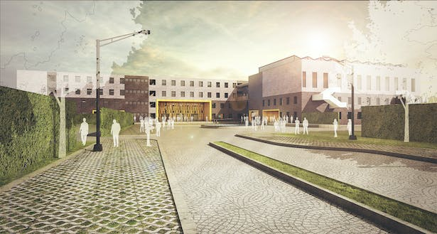 The design also attempts to reclaim Green spaces which are lost in the modern concrete jungles. The climate responsive building design attempts to reduce energy loads effectively.