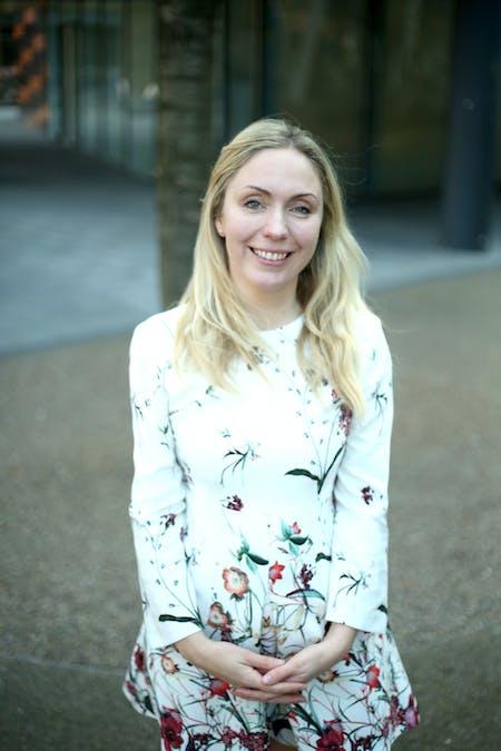 Holly Porter, founder of Chicks with Bricks. Courtesy of Holly Porter.