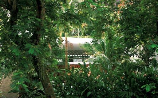 Oscar Niemeyer's Carmen Baldo house.