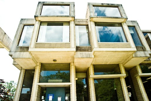 The Brutalist-style Orange County Government Center in Goshen, N.Y., closed since 2011, and designed by Paul Rudolph, may get a shot at preservation. Credit Randy Harris for The New York Times
