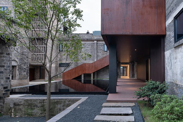 After:Inner Courtyard Landscape, photo: Wu Qingshan