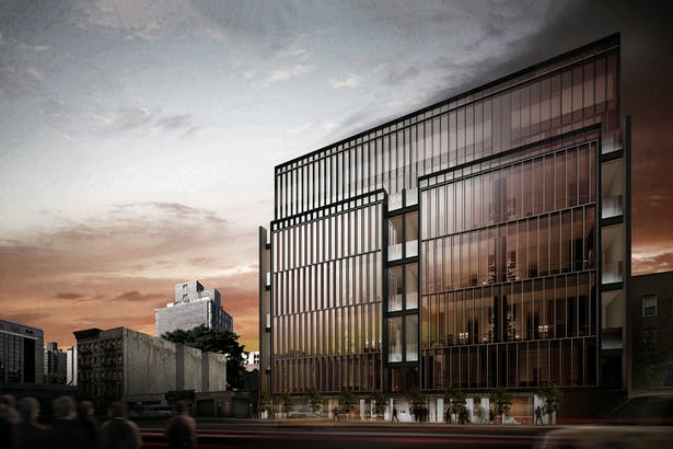 Rendering of Soori High Line along W29th Street