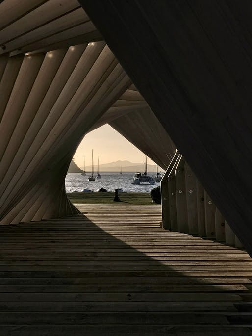Small Project Architecture - Waiheke Gateway Pavilion by Stevens Lawson Architects