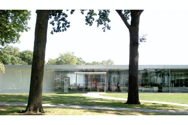 Glass Pavilion, Toledo Museum of Art in Toledo, Ohio by Kazuyo Sejima + Ryue Nishizawa / SANAA. Image courtesy of the MCHAP.