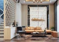 Mẫu thiết kế nội thất nhà phố cao cấp và hiện đại