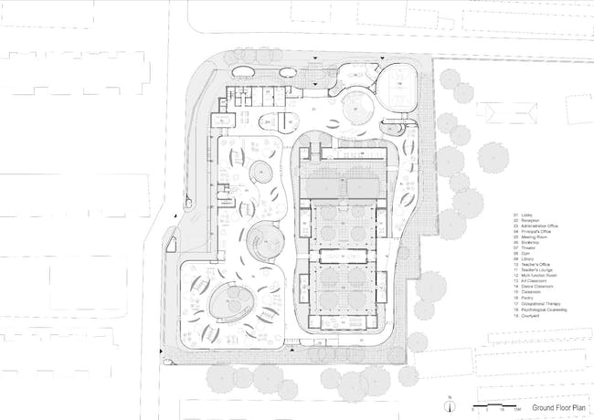 Plan. Image courtesy of MAD Architects.