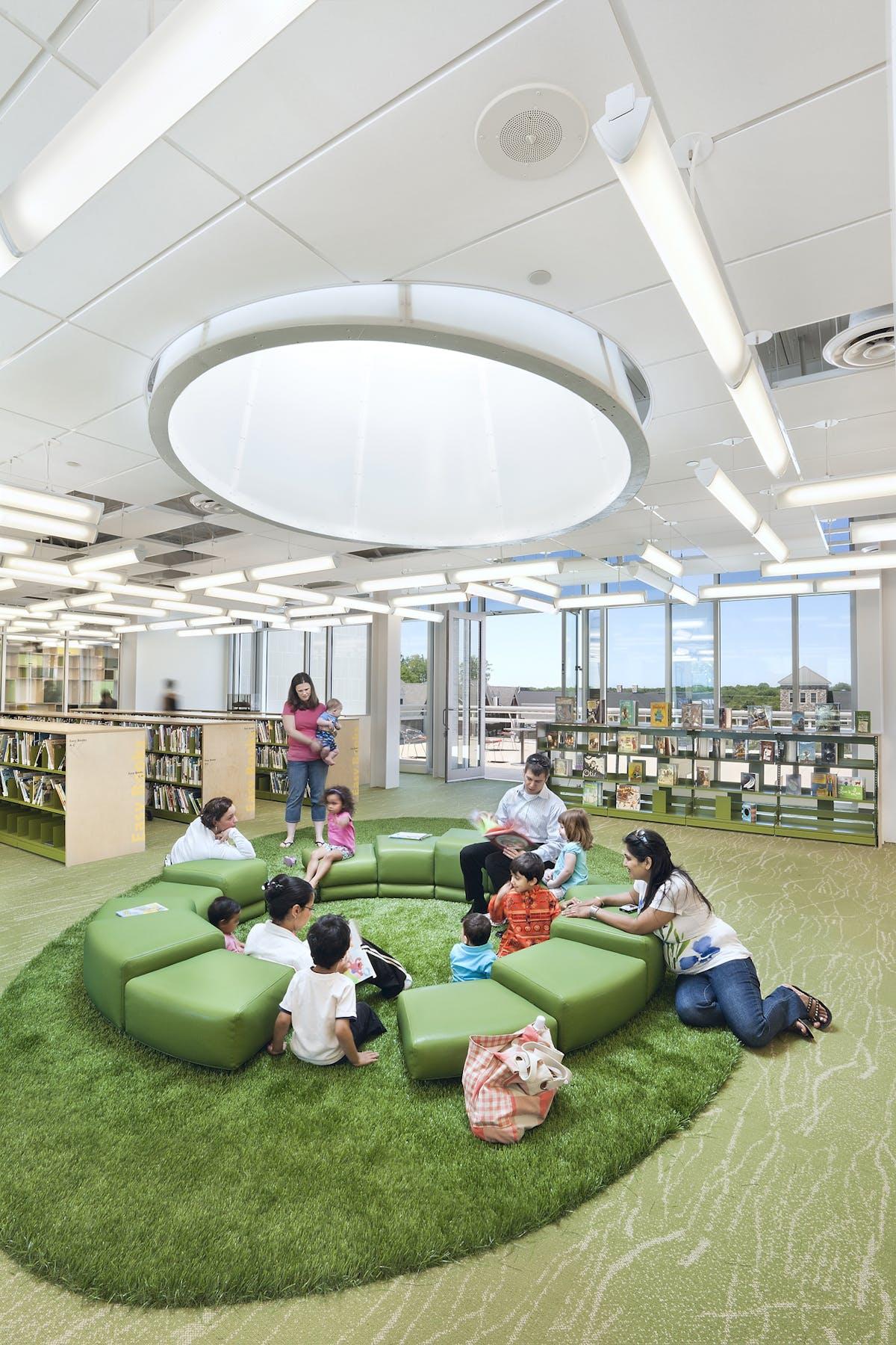 Plainsboro Public Library | BKSK Architects, LLP | Archinect