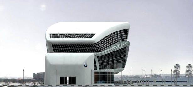 Alexander Skhiri BMW Showroom | Alexander Skhiri | Archinect