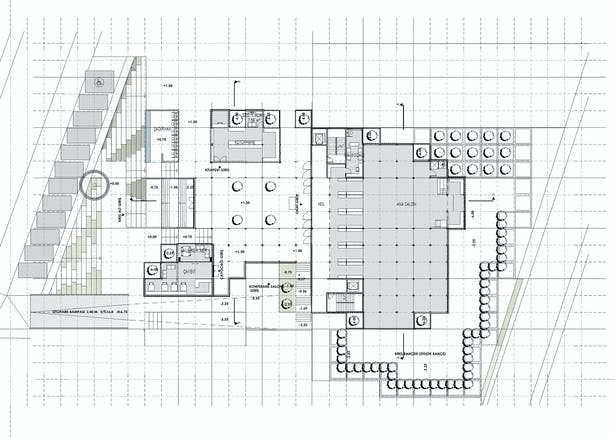 Ground floor plan. Image © rggA