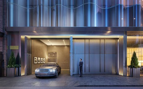 Completed a DOB submission for a private vehicular drop-off with joint firm Adrian Smith + Gordon Gill for Central Park Tower