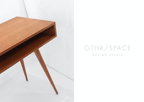 Sneak peak of a new 2 person desk! Built in Oakland, CA designed by Othrspace.