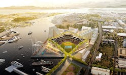 Oakland A's release plans by BIG for new ballpark at Howard Terminal