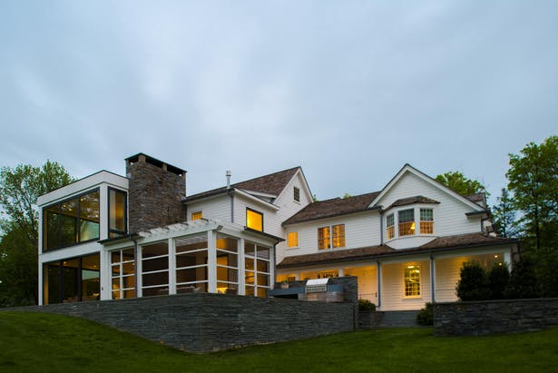 Contemporary Colonial with Quantum Windows & Doors