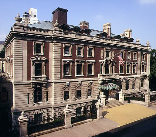 Historic photo of the Cooper Hewitt, National Design Museum in Manhattan. Image courtesy of the Smithsonian Institute / Matt Flynn.