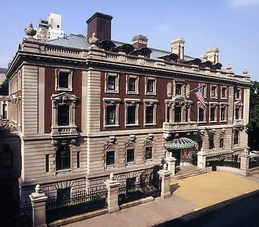 Historic photo of the Cooper Hewitt, National Design Museum in Manhattan. Image courtesy of the Smithsonian Institute / Matt Flynn.