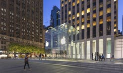 Apple's Fifth Avenue flagship reopens with famed glass cube and new public plaza