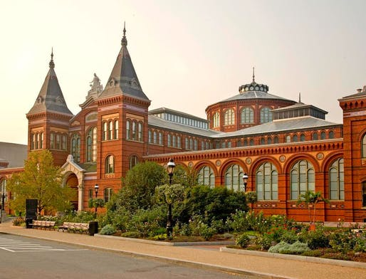 The Arts and Industries Building at the Smithsonian Institution in Washington, DC. Image via the Smithsonian Institution.