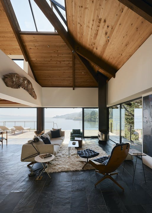 Haiku House in Tiburon, CA by SHED Architecture & Design; Photo: Joe Fletcher