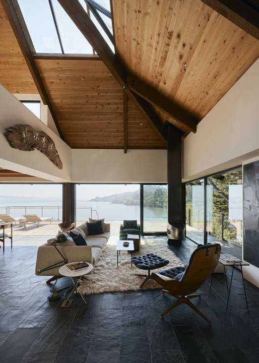 "<a href=""https://archinect.com/SHED/project/haiku-house"">Haiku House</a> in Tiburon, CA by <a href=""https://archinect.com/SHED"">SHED Architecture & Design</a>; Photo: Joe Fletcher"