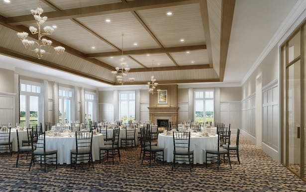 rendering of formal dining