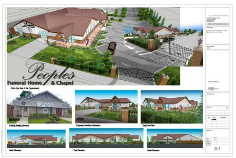 People's Funeral Home - addition, Denton, TX
