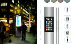 Six Finalists of NYC's Reinvent Payphones Design Challenge