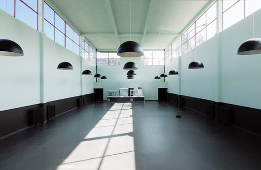 2018 WMF/Knoll Modernism Prize recipient: Agence Christiane Schmuckle-Mollard for the preservation of the Karl Marx School in Villejuif, France, designed by André Lurçat. Photo courtesy World Monuments Fund.