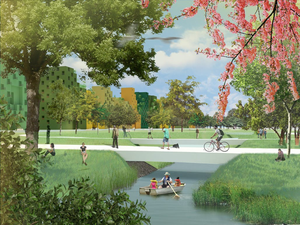 MVRDV to masterplan new Hyde Park urban district near Amsterdam