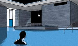 New graphic novel is set in Peter Zumthor's Therme Vals in Switzerland