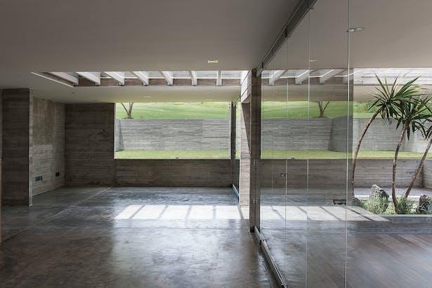 casa DATRI living area / Photographer: Jaime Navarro