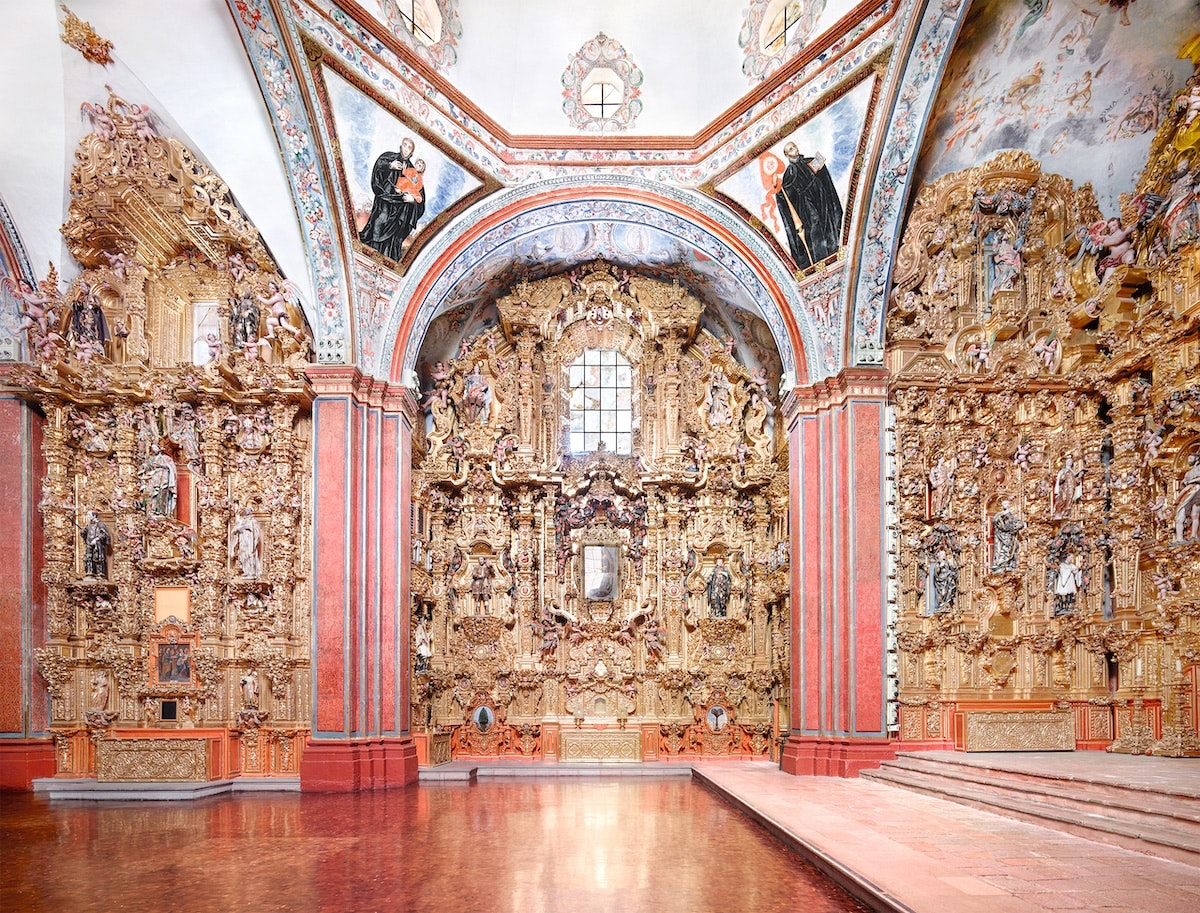 600 years of Mexican architecture through the eyes of Candida Höfer.
