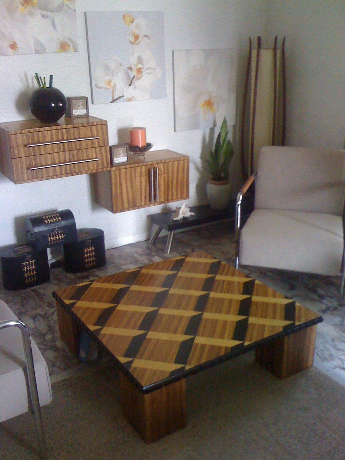 3d Zebra Wood Coffee Table Roy Senior Archinect