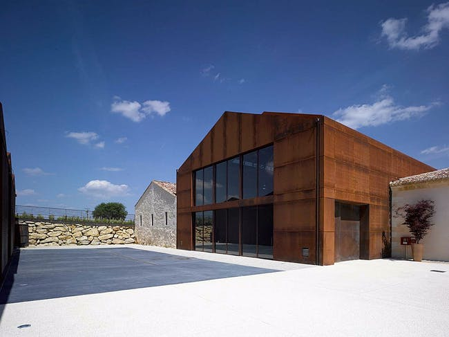 Chateau Barde-Haut Winery in St Christophe des Bardes, St Emilion, France by NADAU LAVERGNE ARCHITECTS