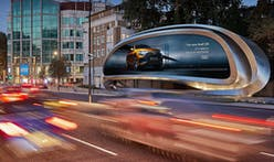 Zaha Hadid Architects transforms the classic billboard into public art