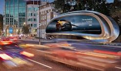 Zaha Hadid Architects transforms the classic billboard into public art