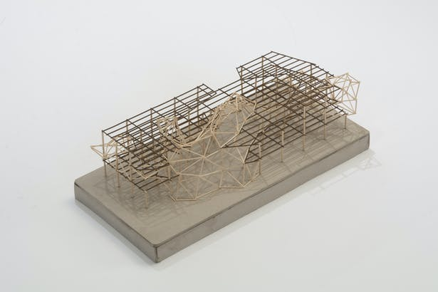 Structure study model