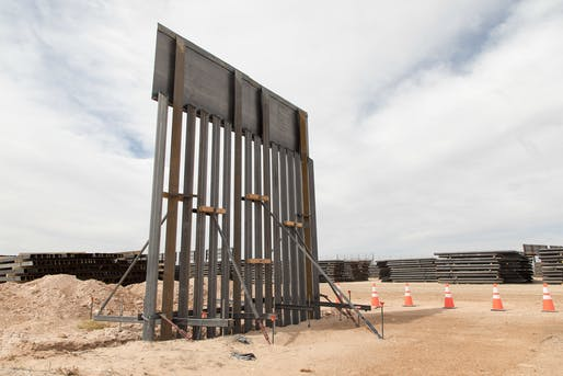 President Trump's border wall remains an aspirational project. Image courtesy of by Mani Albrecht, U.S. Customs and Border Protection.