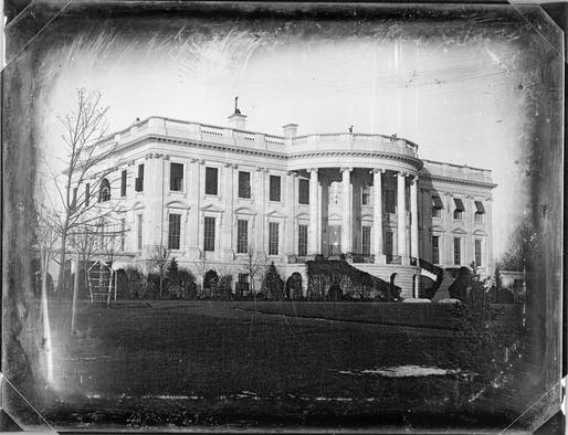 How did the American Institute of Architects leverage historic preservation to increase its own stature? Shown: An 1846 photo of the White House taken by John Plumbe. Image courtesy of the Library of Congress.