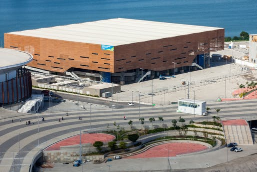 Arena de Futuro (Future Arena), the handball stadium for Rio's 2016 Olympics. Image via Wikipedia.