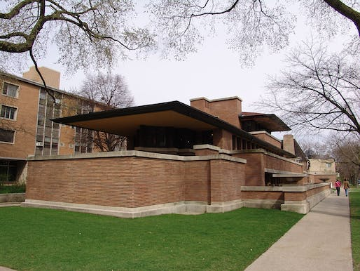 The Robie House, by Frank Lloyd Wright
