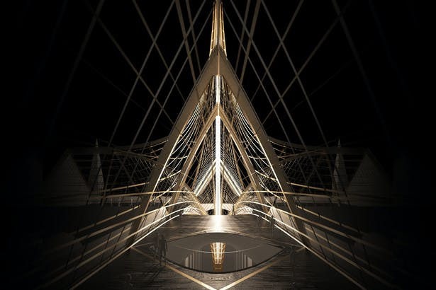 Notre Dame's Spine_OF STUDIO_Concept_Image_Roof_Space
